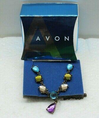Avon 2008 Jewel tone 'Y' Necklace 18
