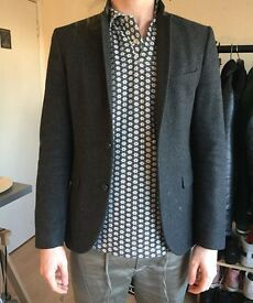 Selected Men grey suit jacket