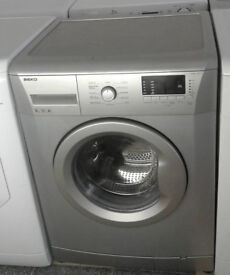L643 silver beko 6kg 1600spin A+ rated washing machine comes with warranty can be delivered