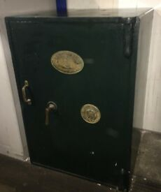 Large heavy Old Birmingham Safe