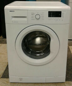 x410 white beko 7kg 1200spin A+ rated washing machine comes iwth warranty can be delivered