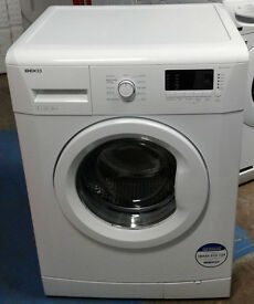 F386 white beko 7kg 1300spin A++ rated washing machine comes with warranty can be delivered