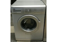 a711 silver beko 5kg 1200spin A+ rated washing machine comes with warranty can be delivered