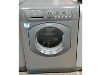 p232 graphite hotpoint 6kg 1400spin washing machine comes with warranty can be delivered