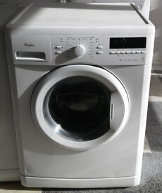 g716 white whirlpool 9kg 1400spin A+++ washing machine comes with warranty can be delivered