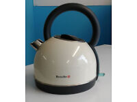 Cream breville traditional electric kettle graded with 12 month warranty can be delivered