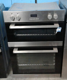 w215 stainless steel lamona double integrated electric oven comes with warranty can be delivered