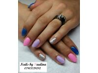 Gel nail polish, acrylic nails, gel extension, manicure, pedicure NAILS BY PAULINA Newark