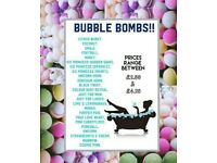 Bath Bombs - Lots of scents available **Handmade, Cruelty Free**
