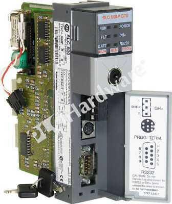 Allen Bradley 1747-l542p B Slc500 Slc504 Cpu Controller 32k Pro-set 200