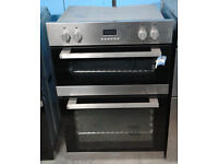 B215 stainless steel lamona double integrated electric oven comes with warranty can be delivered