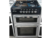 C317 silver flavel 60cm gas cooker comes with warranty can be delivered or collectedb317