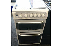 a036 white cannon 50cm gas cooker comes with warranty can be delivered or collected