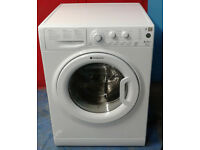y065 white hotpoint 8kg 1350spin A++ rated washing machine comes with warranty can be delivered