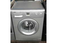 E285 silver beko 7kg 1200spin A+A rated washing machine comes with warranty can be delivered