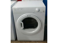 k570 white hotpoint 6.5kg vented dryer comes with warranty can be delivered or collected