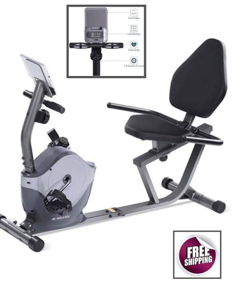 Recumbent Exercise Bike Sport Center Gym Fitness Full Body M