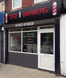 Traditional Barber Wanted For Busy High Street Barbershop in Telford, Shropshire