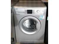 b592 silver beko 7kg 1600spin A++ rated washing machine comes with warranty can be delivered