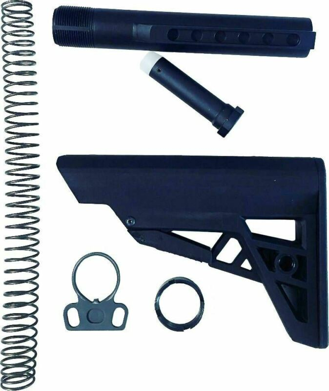 ATI AR-15 Stock Kit - Black | Mil-Spec