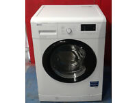 m117 white & black beko 7kg 1500spin A++ rated washing machine comes with warranty can be delivered
