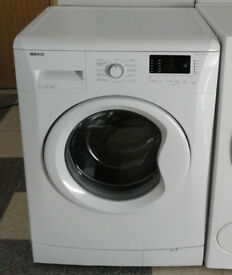 y694 white beko 7kg 1500spin A++ washing machine comes with warranty can be delivered or collected