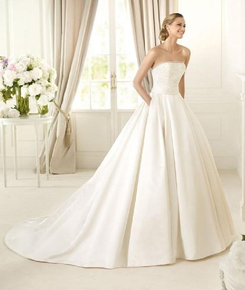 7effd74dc5 Pronovias Dalamo 2016 dress size 14