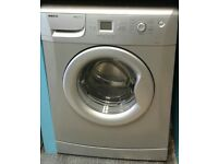 c211 silver beko 8kg 1200 spin washing machine with warranty can be delivered or collected