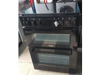 y478 black stoves 60cm gas cooker comes with warranty can be delivered or collected