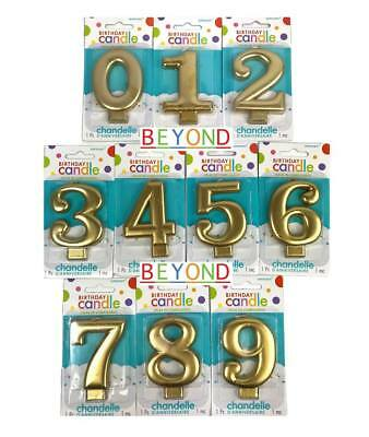 Number Candle Cake Topper](Numbered Candles)