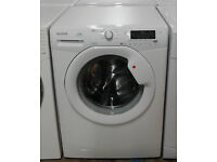 Z262 white hoover 9kg 1400spin A rated washing machine comes with warranty can be delivered