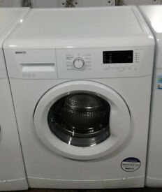 k254 white beko 7kg 1200spin A+ rated washing machine comes with warranty can be delivered