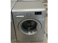 b590 silver 7kg 1500spin A++ rated washing machine comes with warranty can be delivered or collected