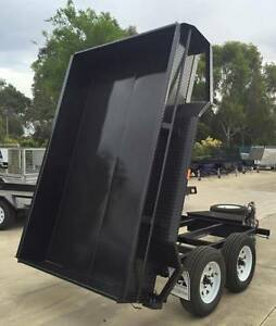 10x5 Heavy Duty Tandem Electric Tipper Trailer Morphett Vale Area Preview