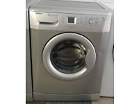 L706 silver beko 7kg 1400spin A+A rated washing machine comes with warranty can be delivered