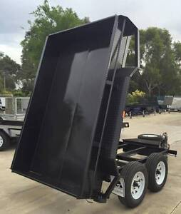 10x5 Heavy Duty Tandem Electric Tipper Trailer Marion Area Preview