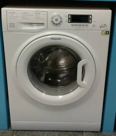 L163 white hotpoint 8kg 1400spin A+++ rated washing machine comes with warranty can be delivered