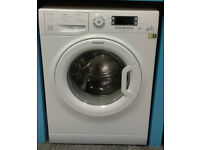 O163 white hotpoint 8kg 1400spin A+++ rated washing machine comes with warranty can be delivered