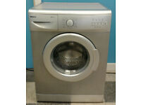 a720 silver beko 6kg 1200spin A+A rated washing machine comes with warranty can be delivered
