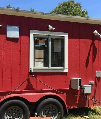 2005 - 8 X 24 Bbq Smoker Trailer With Porch Snowball Concession Trailer For