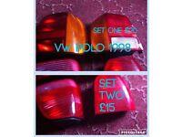 Vw polo rear lights 1998