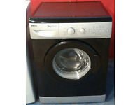 x385 black & silver beko 5kg 1200spin AA rated washing machine comes with warranty can be delivered