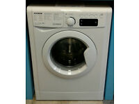 434 white indesit 9kg washing machine comes with warranty can be delivered or collected