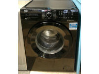 a713 black beko 8kg 1400spin A+++ rated washing machine comes with warranty can be delivered
