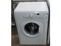 a155 white hotpoint 6kg 1400spin washing machine comes with warranty can be delivered or collected