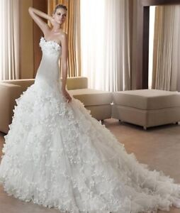 Pronovias Wedding Dress/Hoop/Belt