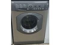 l270 graphite hotpoint 7kg 1300spin washing machine comes with warranty can be delivered