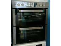 a733 stainless steel hoover built under double electric oven new with manufacturers warranty