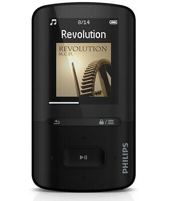 Philips GoGear Vibe MP3 MP4-Player 4GB LCD-Display USB 2.0 Audible Ebook Musik  ()
