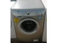 x266 silver zanussi 6kg 1200spin washing machine comes with warranty can be delivered or collected